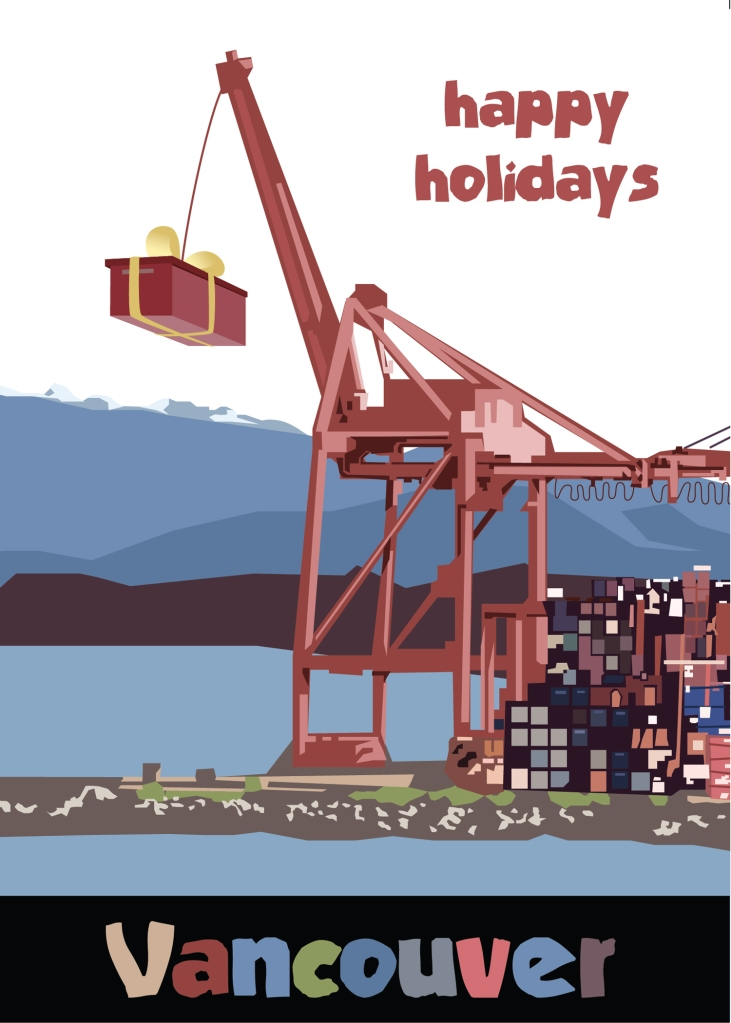 Holiday season card (Adobe © Illustrator)