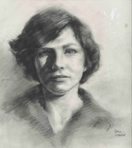 Self-portrait (Charcoal)